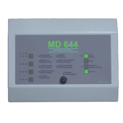 MD644 CENTRAL INCENDIE 4 BOUCLES