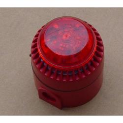 Sirène avec flash rouge - 24Vdc - IP65