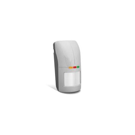 DETECTEUR GRIS DOUBLE TECHNOLOGIE EXTERIEUR - JOUR/NUIT + AM