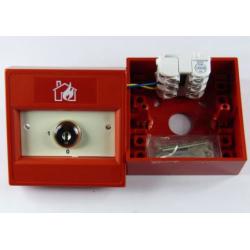 Interrupteur à clé rouge- Commande prioritaire