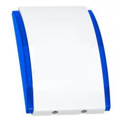 SPW-250 BL Sirène intérieure autoalimentée, boîtier PC-LEXAN (bleu)